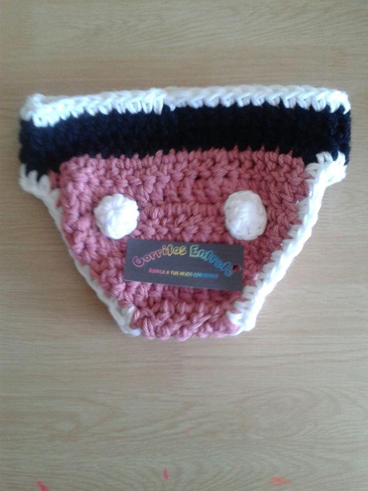 CROCHET - Necesito ayuda patrón de calzoncito o bombacha a crochet niña Fvwarr