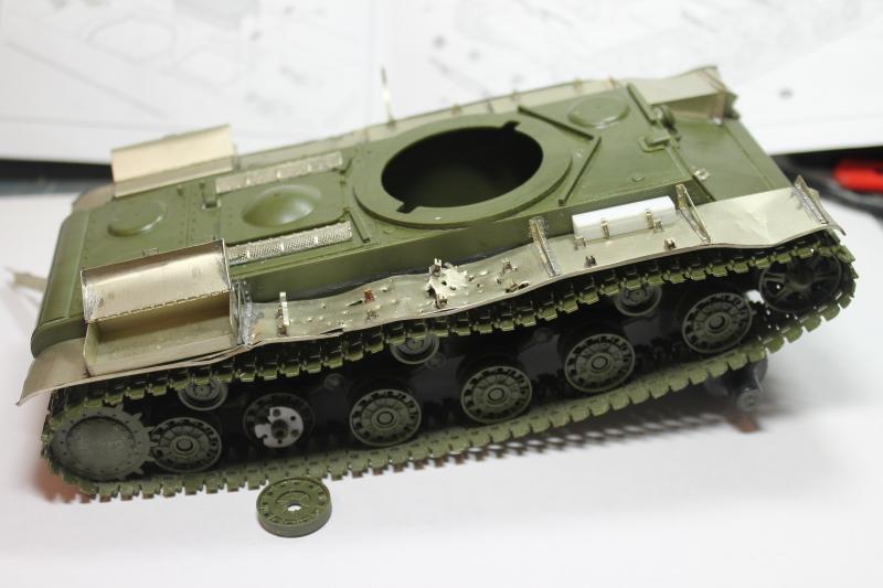 """КВ-1 """"27 ноября 1941 года г. Венев""""(Звезда 1/35) Impc43"""