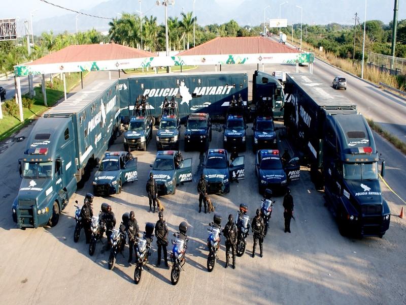 Policia Federal y Policias Estatales Mexico Kcml2e