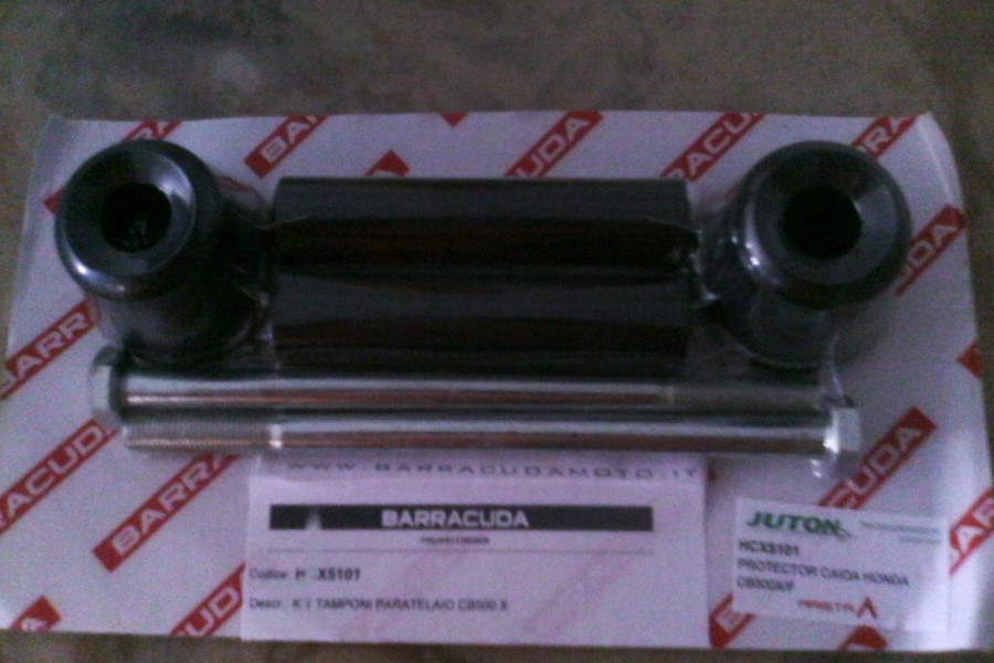 Topes Barracuda. Kdtkeb