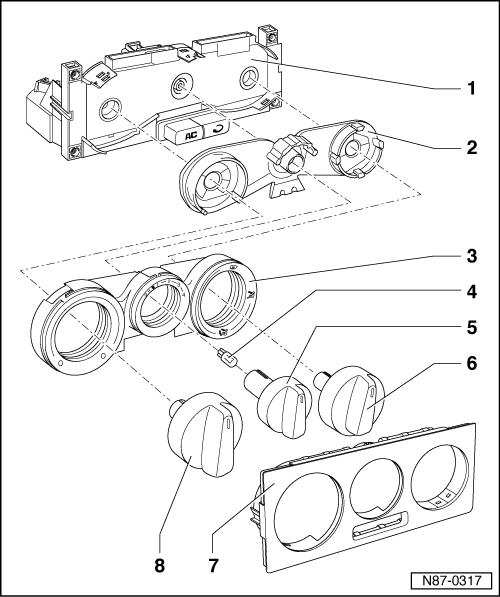 trocando lampada de iluminação dos instrumentos de ventilação Mrby43