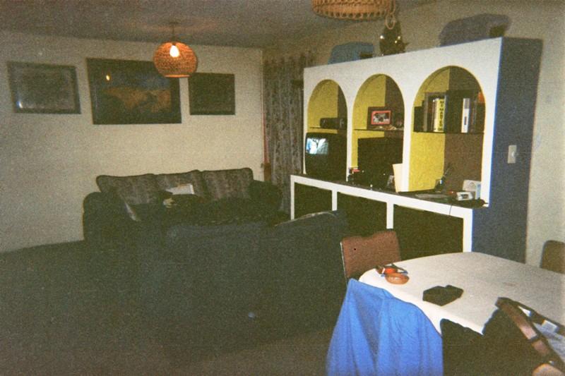 Mueble, gabinete y arcos, hechos con Tablaroca N856q