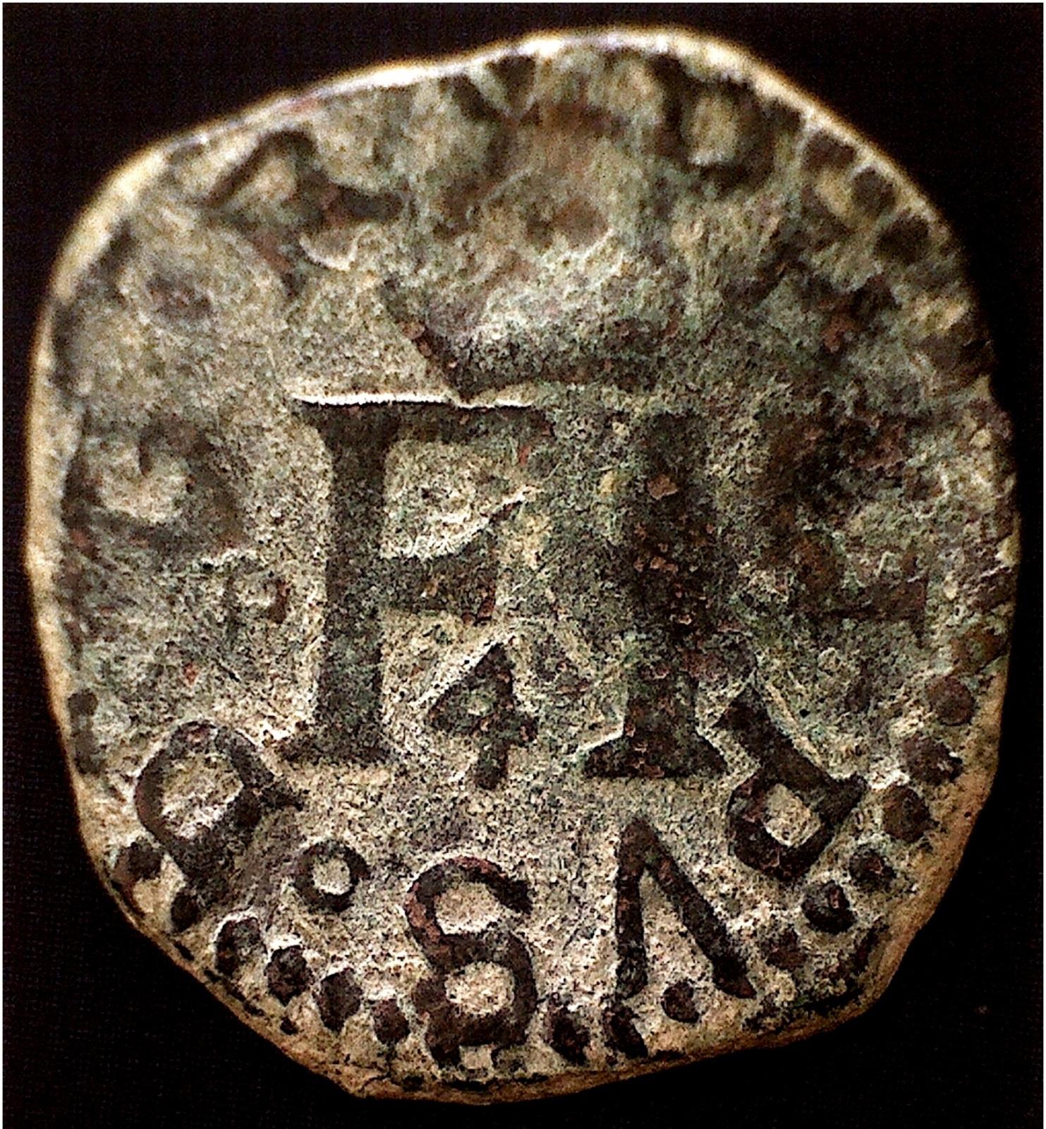 4 Cornados a nombre de Felipe II ( IV de Navarra ), Pamplona, 1574 - 1598. Ng7mfd