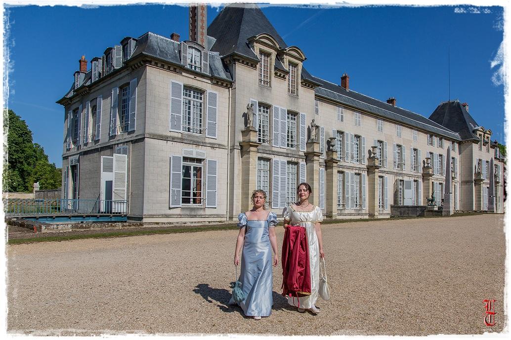 Francia - Castillo de la Malmaison (cerca de París) salida en traje primer imperio 10/05/2015 Of6geu