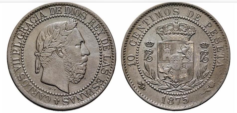 10 Céntimos de peseta 1875 Carlos VII - Página 3 Qoae1e