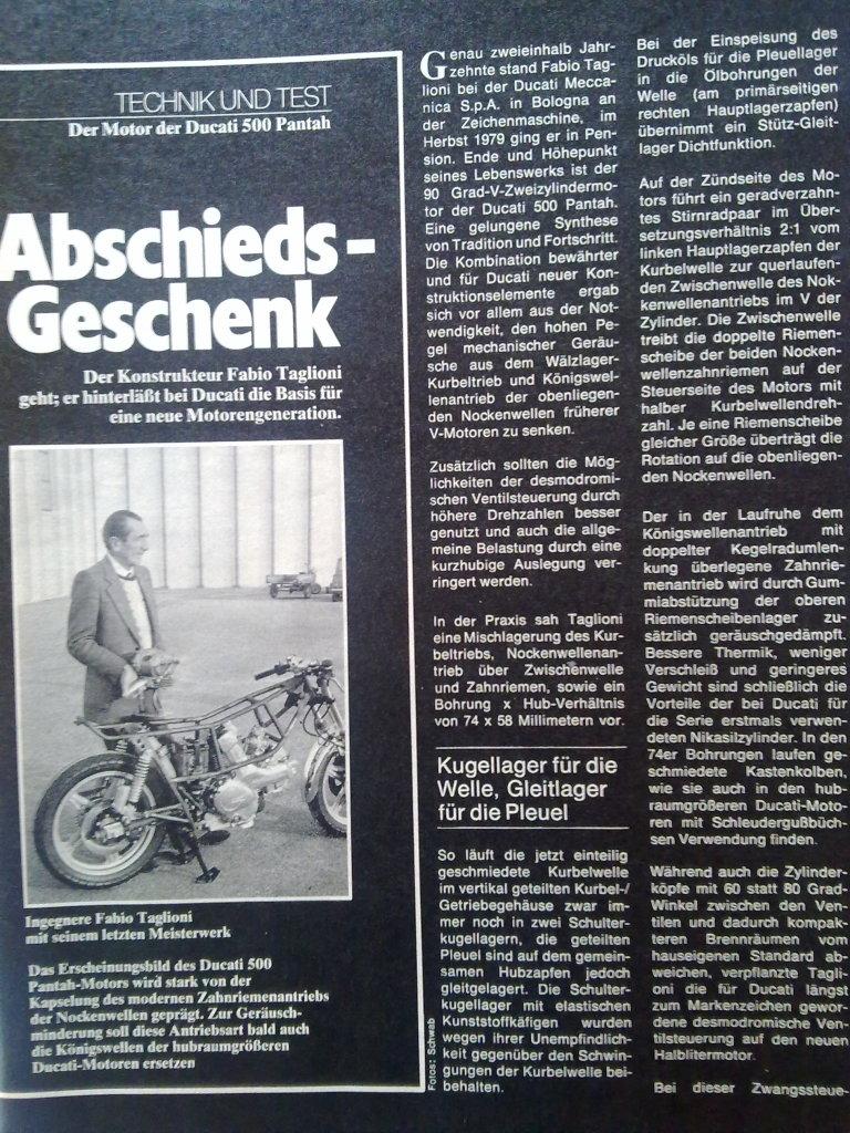 Revista Motociclismo Clasico Rhit89