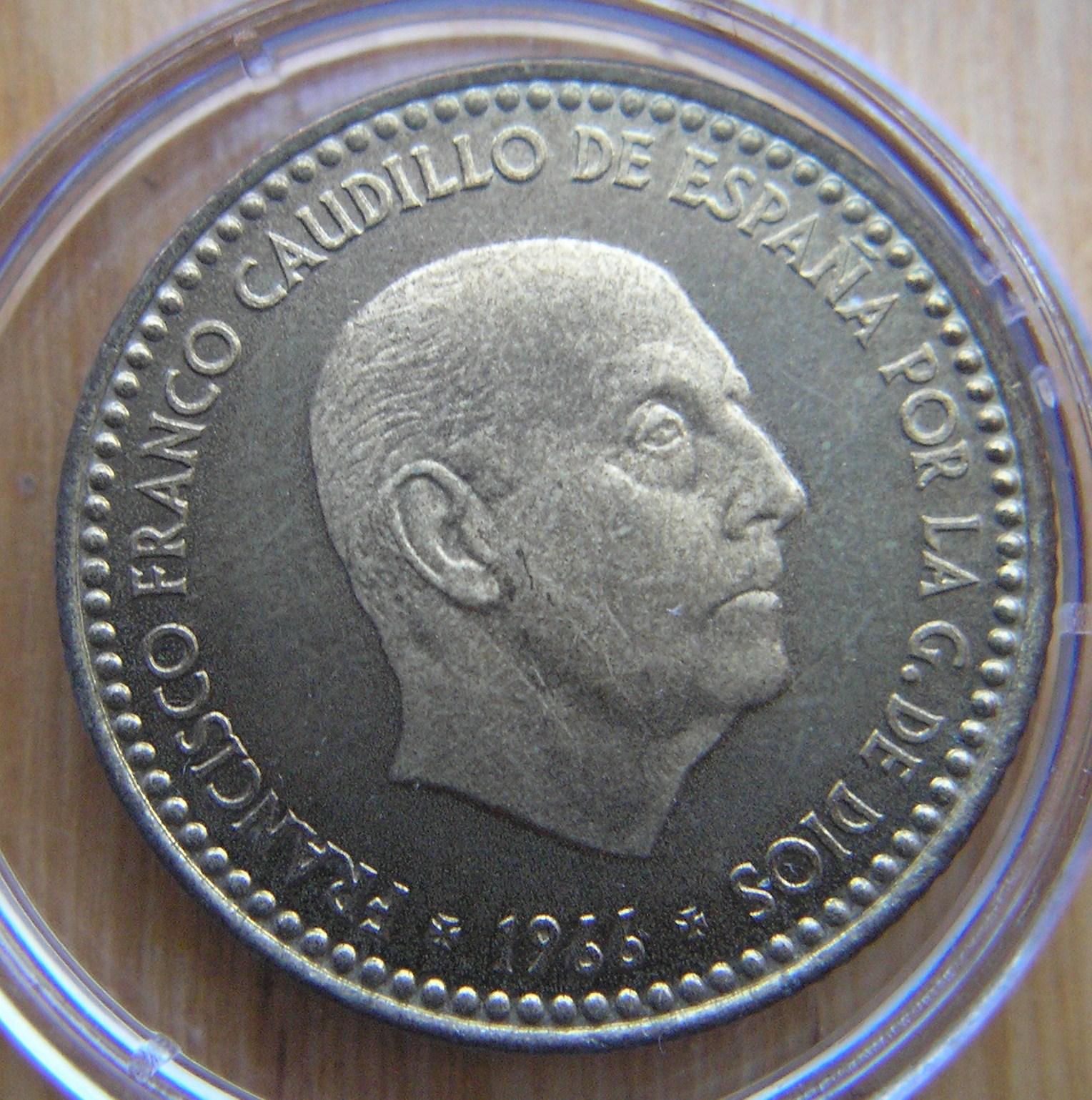 Las pesetas de Franco. Rvg1o9
