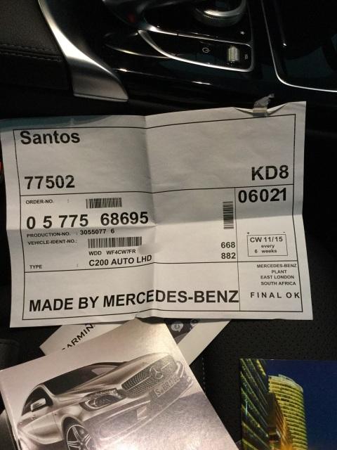 (W205): Fábrica de origem da Classe C  importada para o Brasil Rw6tub