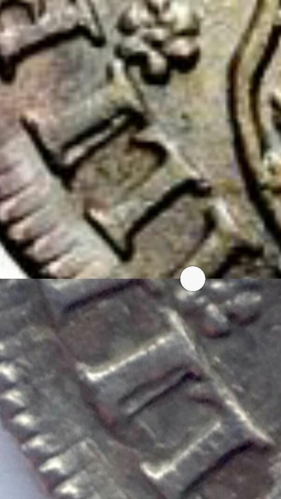 4 reales columnario de 1740. Felipe V, México S2r96a