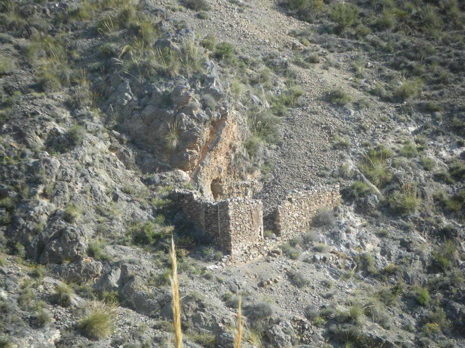 Minas Barranco El Pollo, Huercal de Almeria, Almeria, Andalucia, España Sl6uef