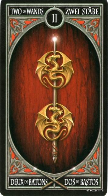 Готическое Таро Анны Стокс /Anne Stokes Gothic Tarot   (скан карт) V8habo