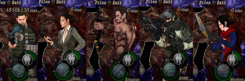 Mercenarios Re6 V3 Vg24og
