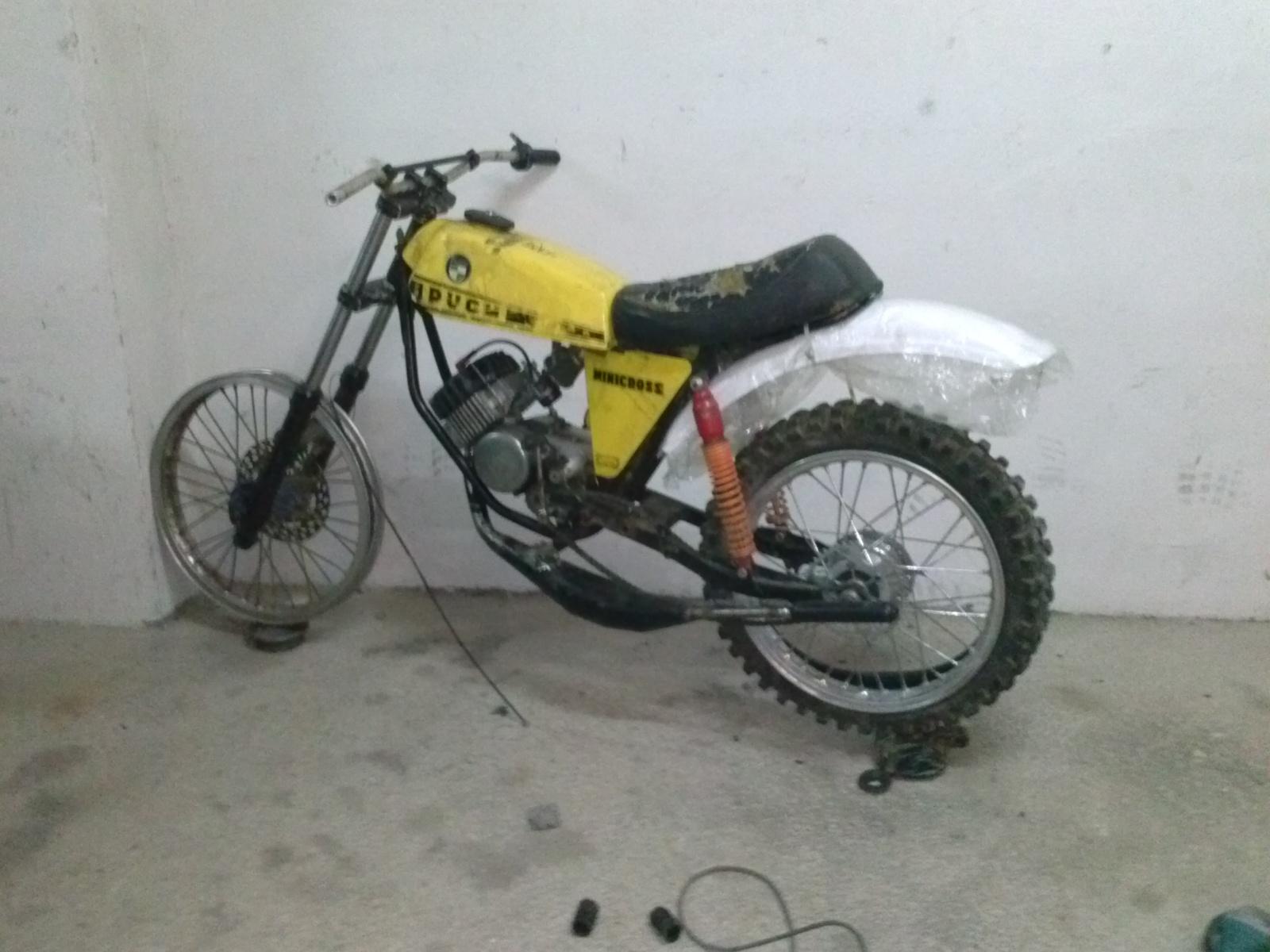 Puch Minicross Super con preparacion Cobra Vn2ubr