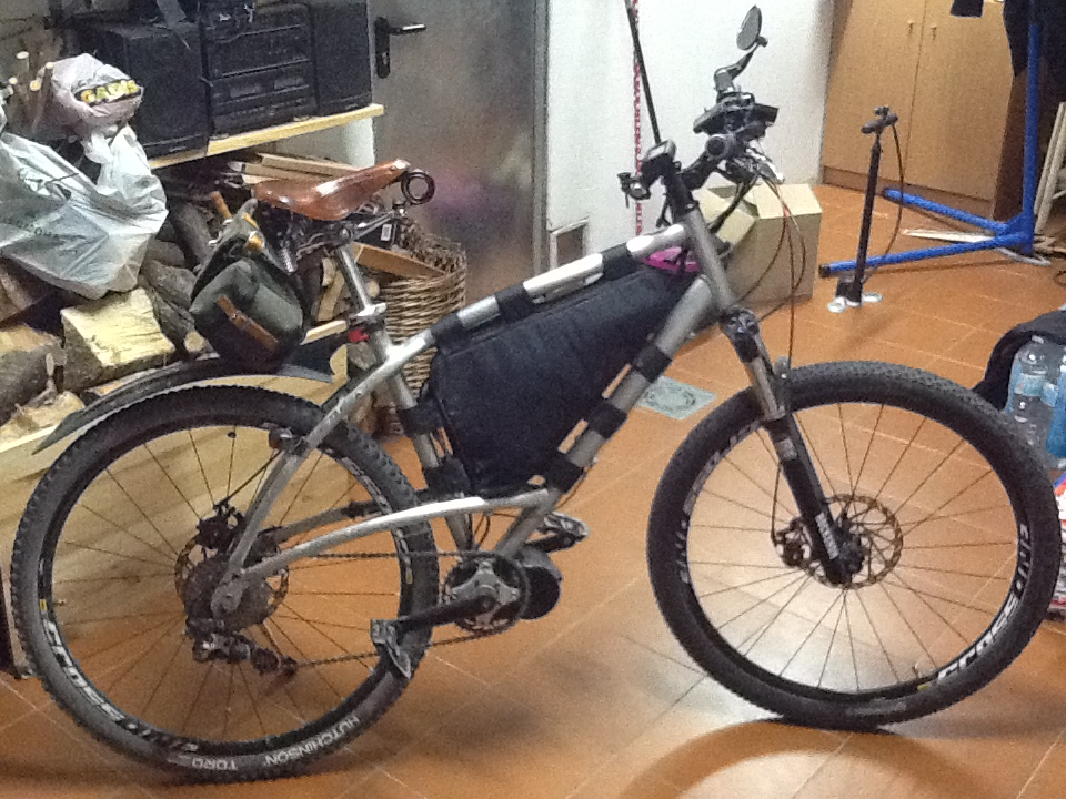 Presenta tu bici eléctrica Xaufbo