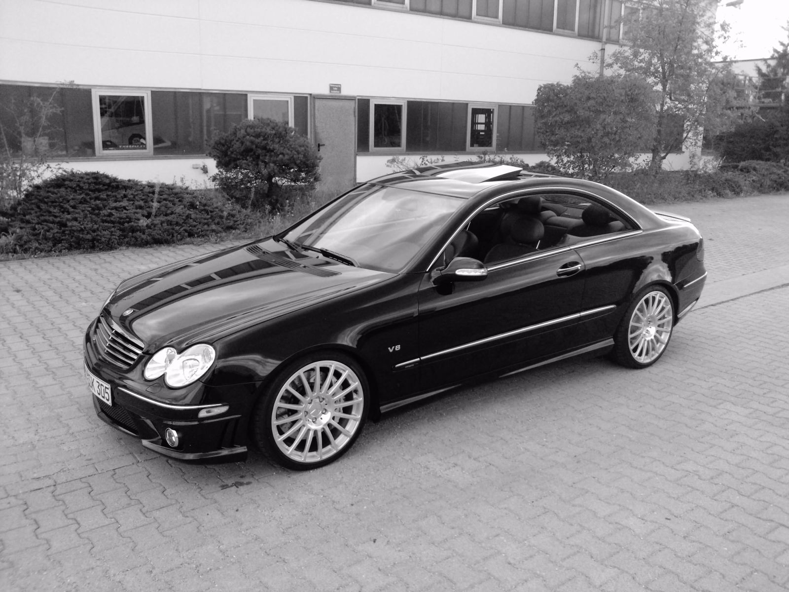 (VENDO): CLK500 Avantgarde 2004/2004 - R$85.000,00 (VENDIDA) Xdhu75