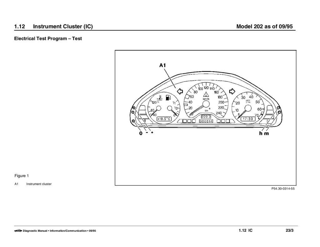 Esquema elétrico Mercedes Classe C W202 - 93 a 99 10hreyp