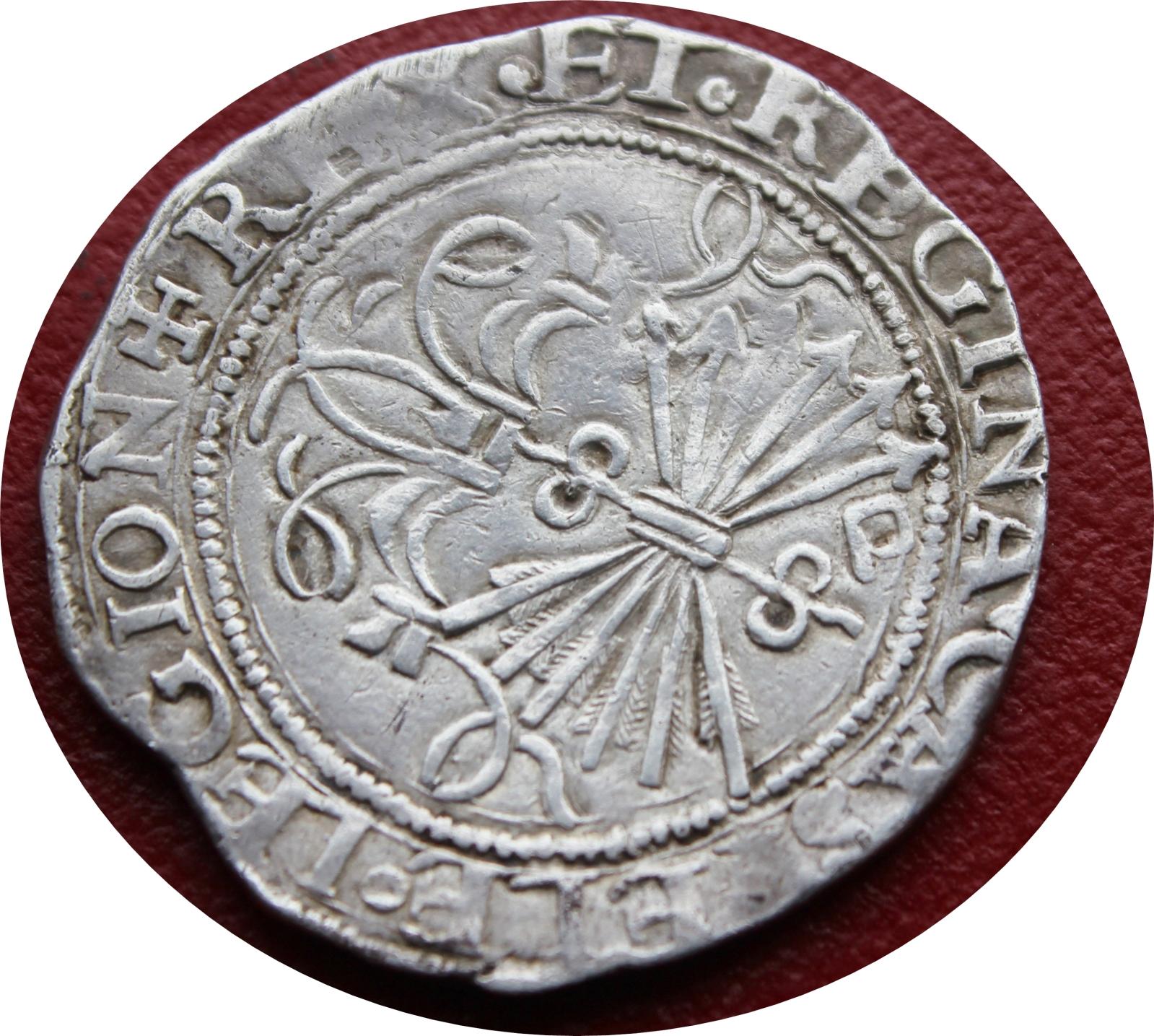 4 Reales a nombre de los Reyes Católicos (1516-1566) Sevilla. 10op2kx