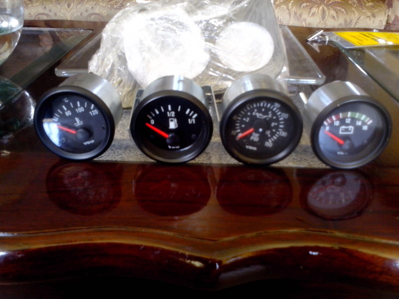 Medidores VDO para vocho 10r1pjc