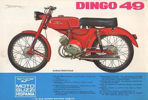 Moto-Guzzi Hispania Dingo - Todos los modelos 13ynnfr
