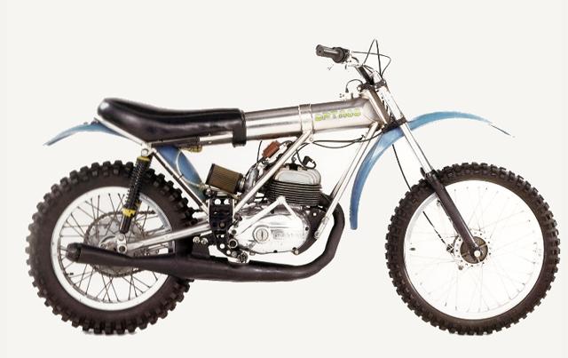Una Bultaco muy especial: la Optaco 14dh8bl