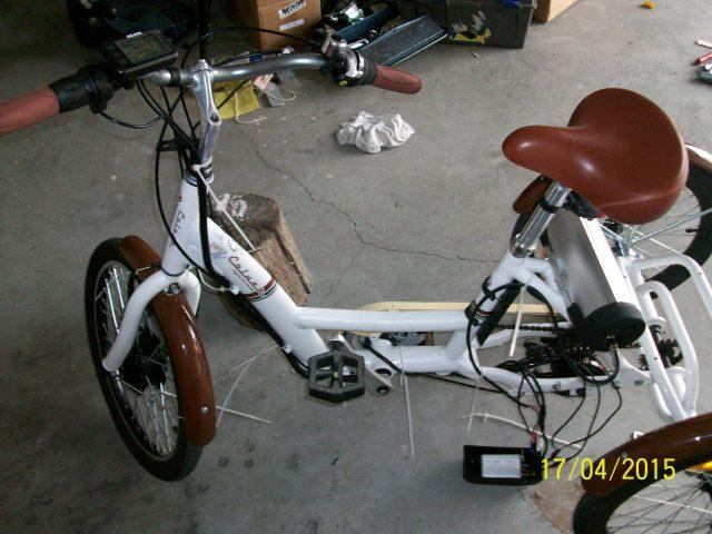 Proceso electrificación triciclo 14x0wac