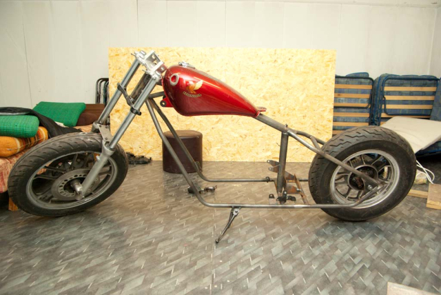 Hardtail Honda 15ecqbq