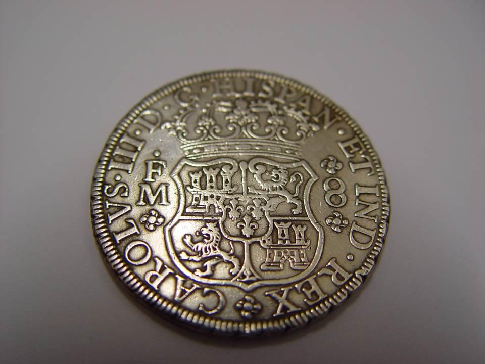 8 REALES CARLOS III -1771 - MÉXICO 15hzz2h