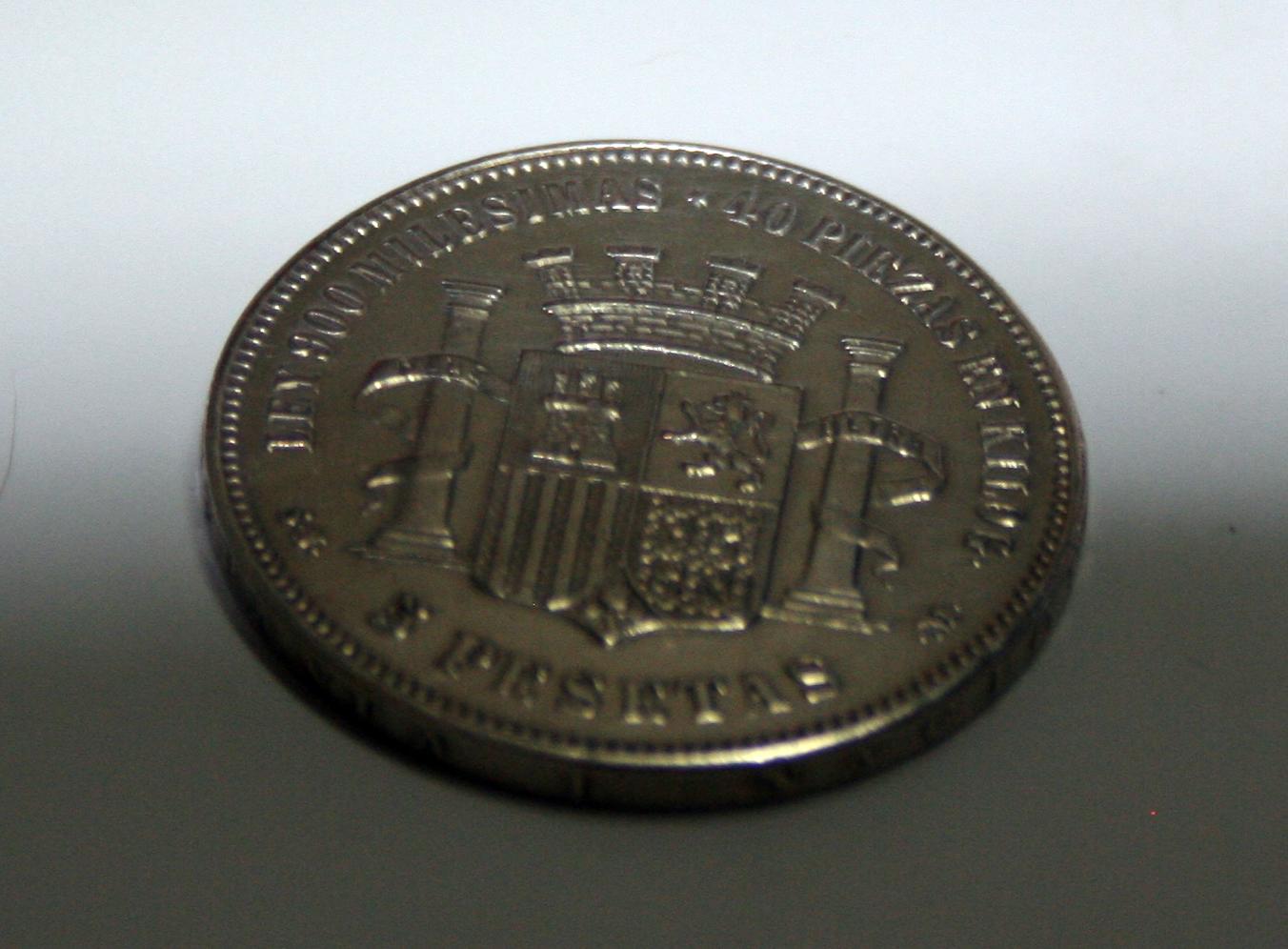 5 pesetas 1870 Falsa de epoca? o ni eso! 16ae4hu