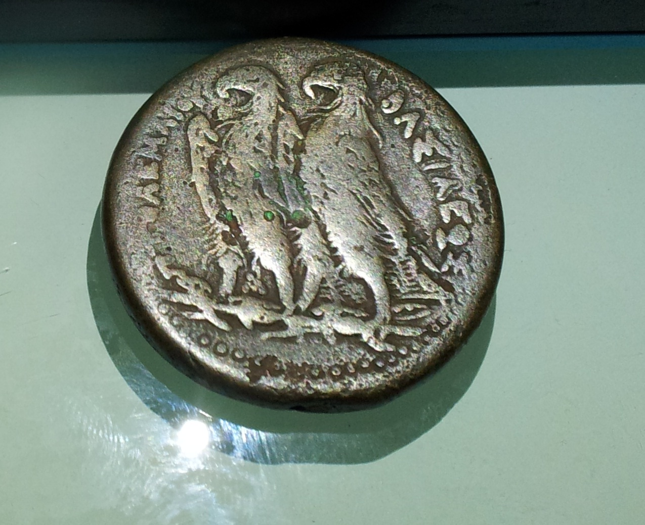 عملة يونانية للملك بطليموس الثاني 1e6opf