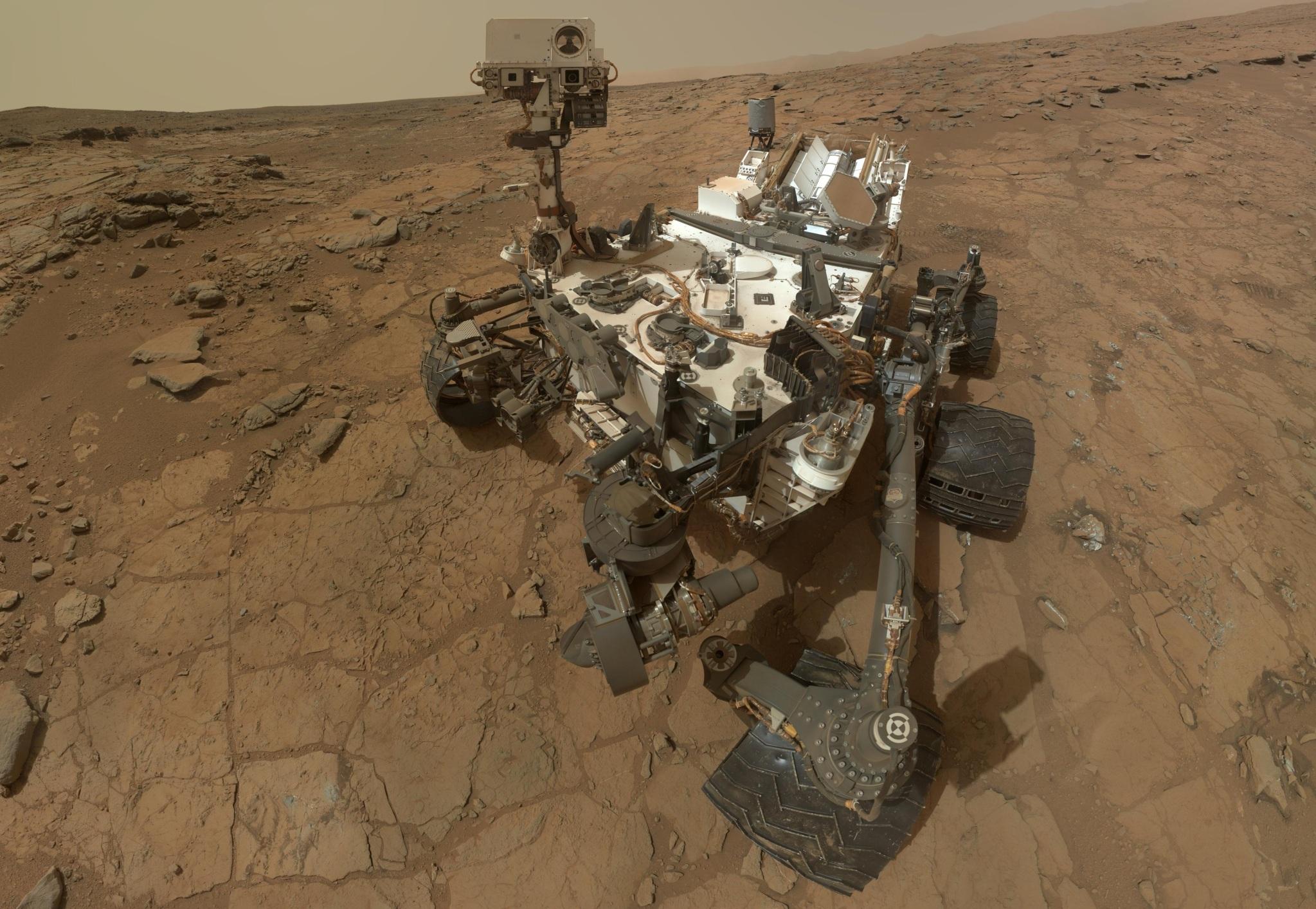 Mars Curiosity Rover Fake NASA Bullshit   1zmj7zk