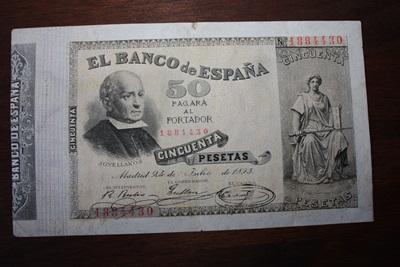 50 Pesetas 1893 2074014