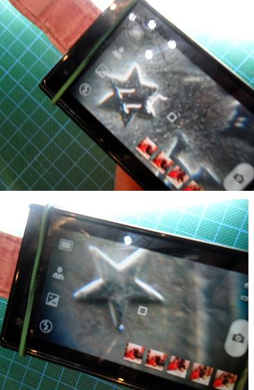 Como fabricar una barata super-lupa con el teléfono móvil. 20as7xh
