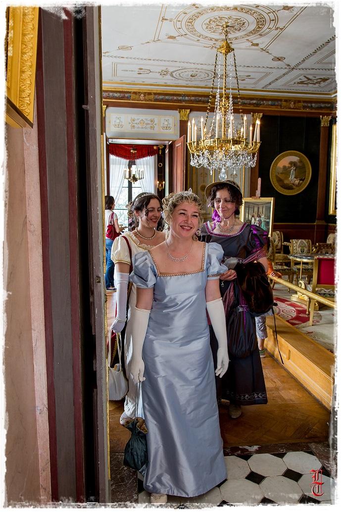 Francia - Castillo de la Malmaison (cerca de París) salida en traje primer imperio 10/05/2015 2390ut