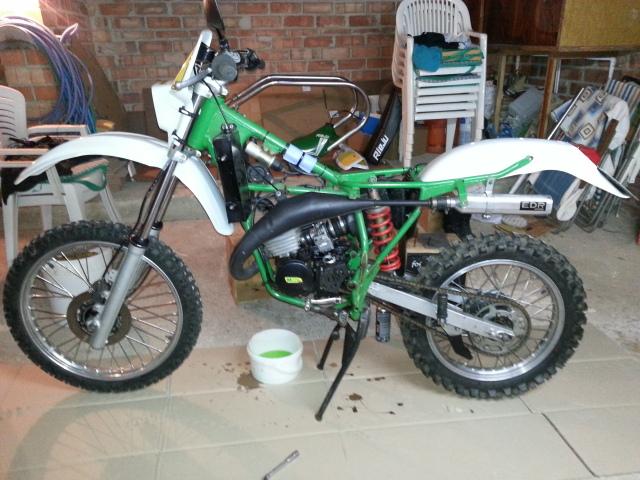 Mi nueva adquisición Rieju MR80 Verde 23tp8vb