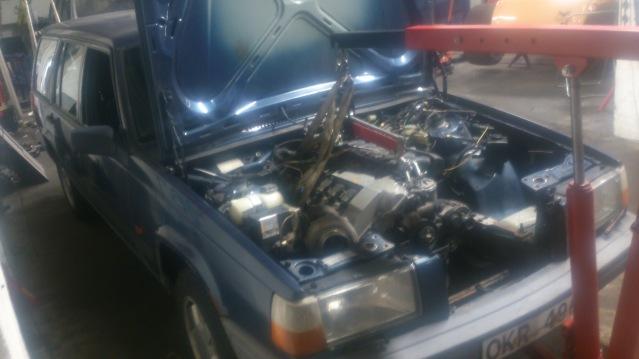 _Macce_  : Volvo 745 M50 vanos Turbo : avslut och sneakpeak på nytt projekt  23u8n5u