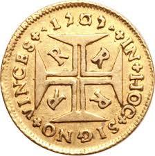 4000 Reis Ioannes V 1707 24v5wdd