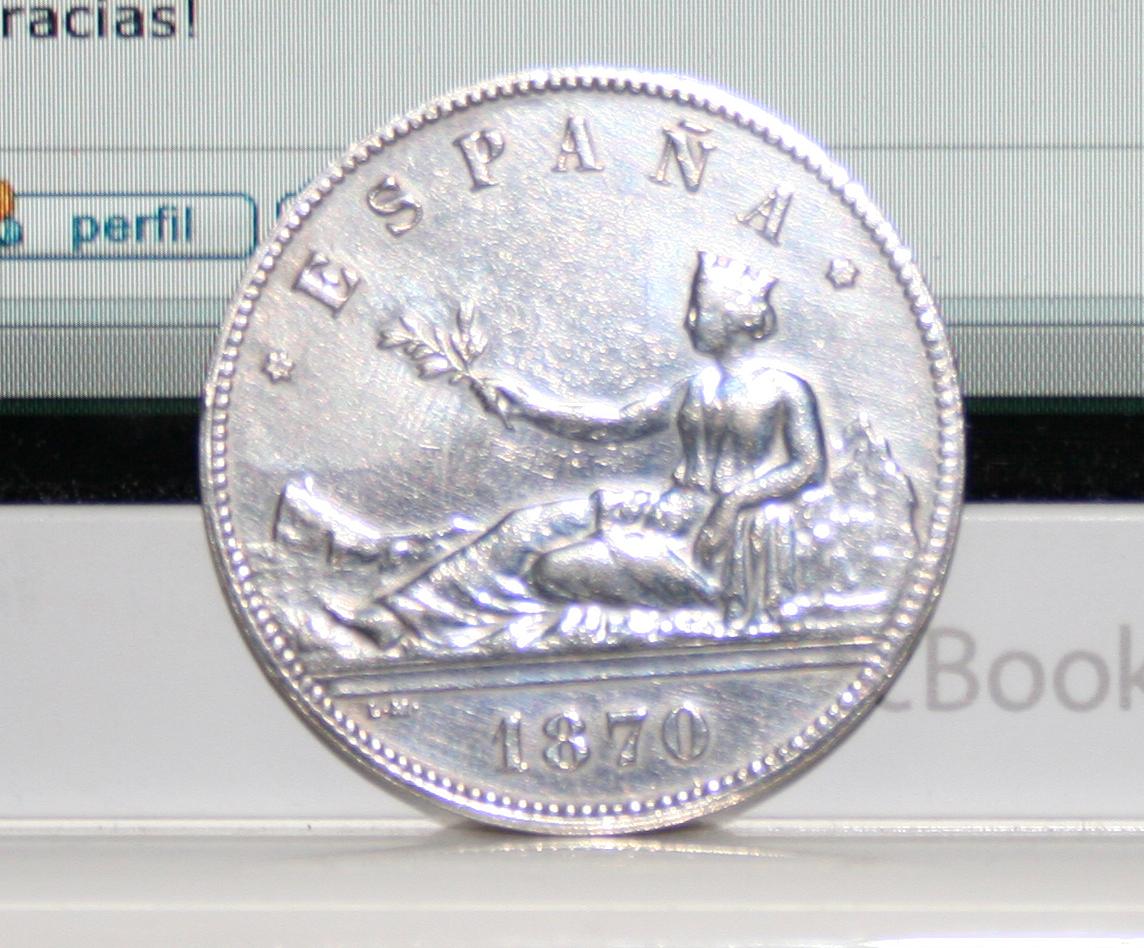 5 pesetas 1870 Falsa de epoca? o ni eso! 257iqty