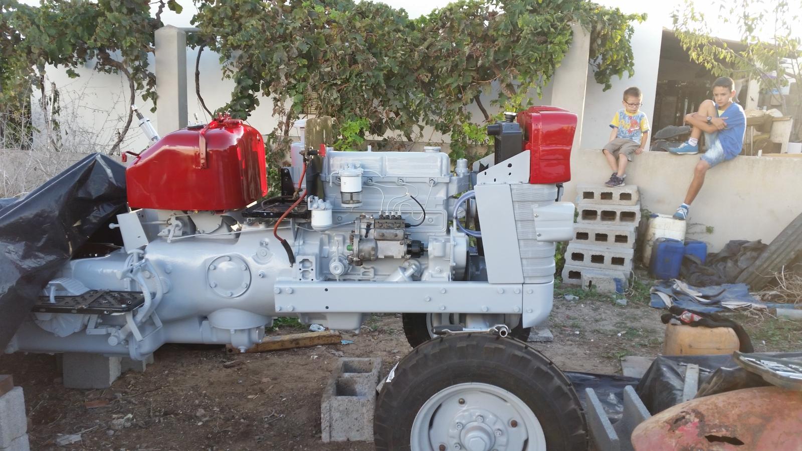 Fordson Major Tractor Tubo de Presión de Aceite