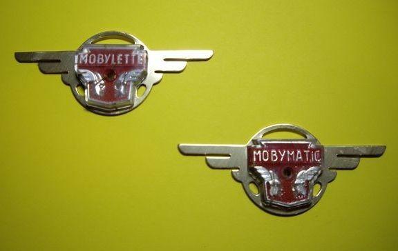 Escudos de las alitas de Mobylette 28lexza
