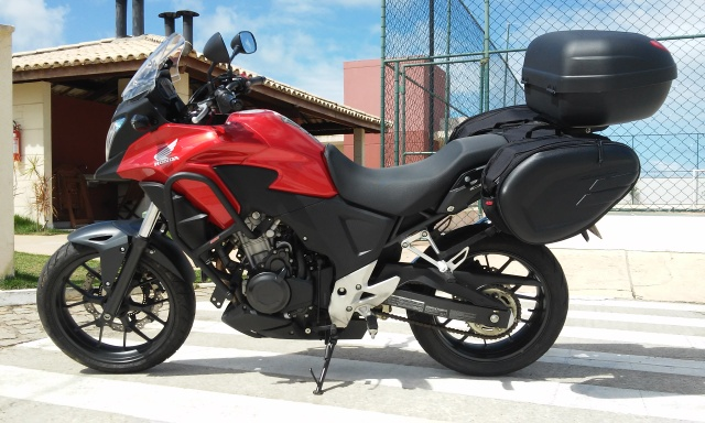 Kit Alforge Lateral + Afastador Honda Cb500 X(Barato) - Página 2 294qf82