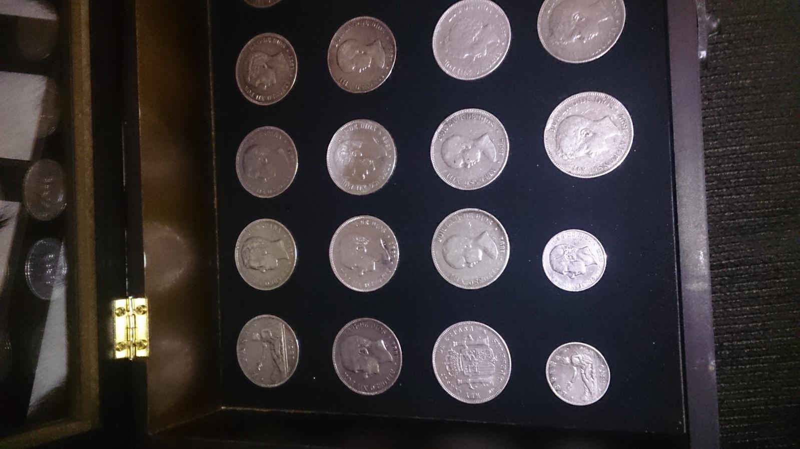 Colección de duros del Centenario de la Peseta 29gimf4