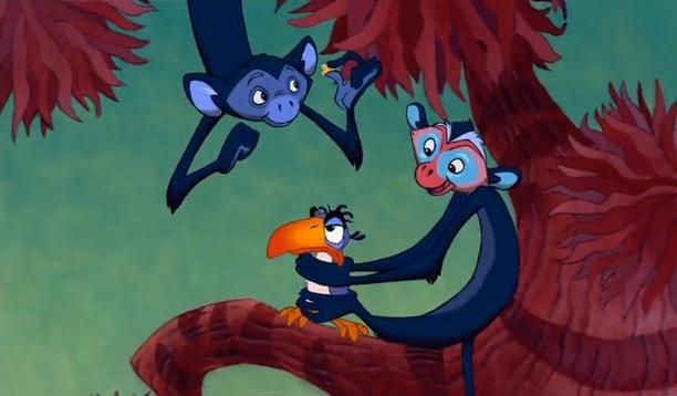 Cabezas de Mickey Mouse en El Rey León 29xexpt