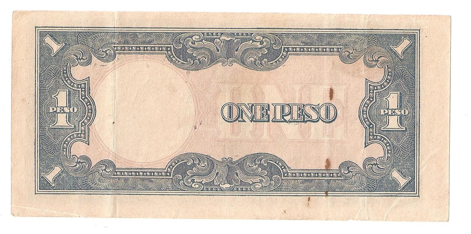 Billete de Filipinas bajo ocupación Japonesa  2a5gpvp