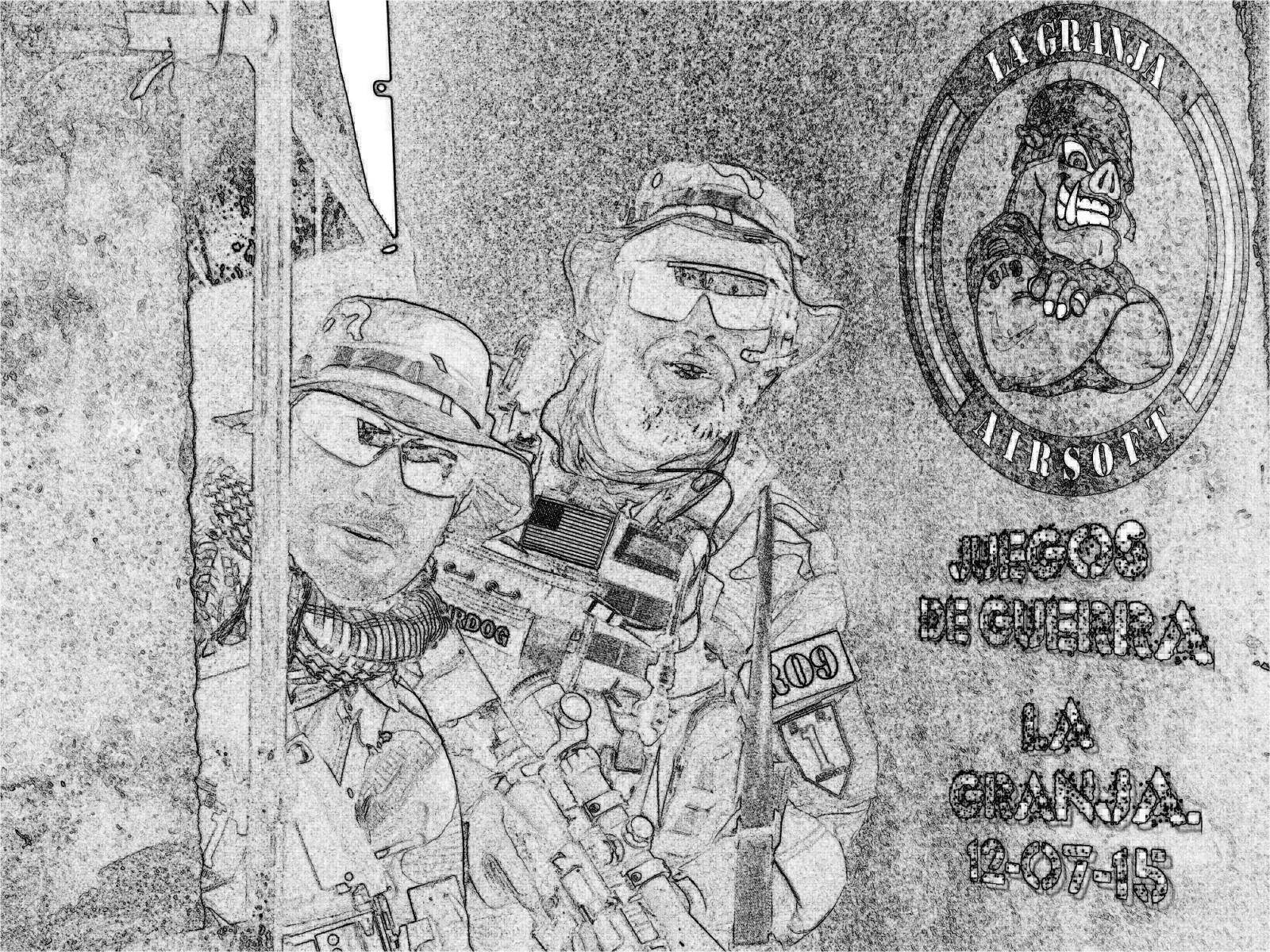 JUEGOS DE GUERRA. LA GRANJA. 12-07-15 2ccqwrp