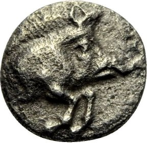 Hemiobolo de Kyzicos (jabali hacia la derecha) 450-400 a.C. 2cdb9c4