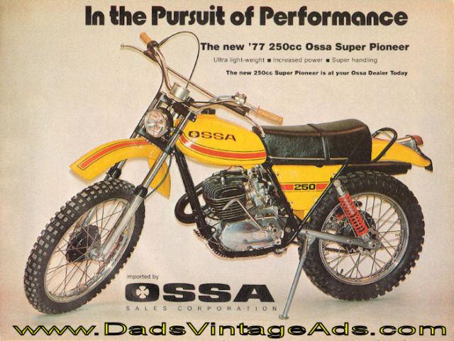 Ossa - Restauración Ossa Super Pioneer 250 2ciafqt