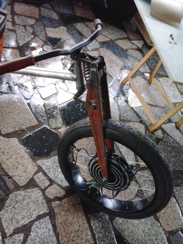 Bicicleta eléctrica a partir de moto Guzzi (+sidecar??) 2e6db3m