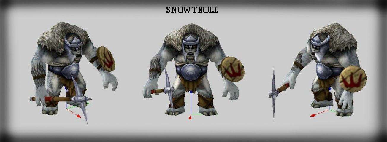 Hero Snow Troll + Snow Trolls (Trolls de las Nieves) EDICIÒN ESPECIAL! 2enry86