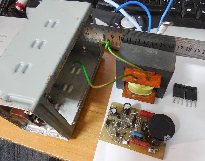 Создаю инвертор вместо реле-регулятора - Страница 3 2hdyz60