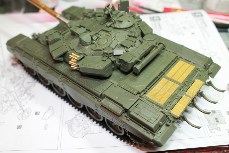 Т-90 с ТБС-86 (Менг 1/35) 2ibn90w